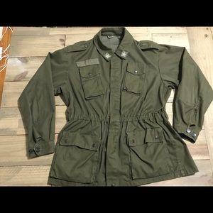 Vintage Italian Army Field Jacket Men's Large